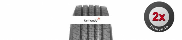 2x 315/80R22.5 MICHELIN XZE2REMIX (REMIX)