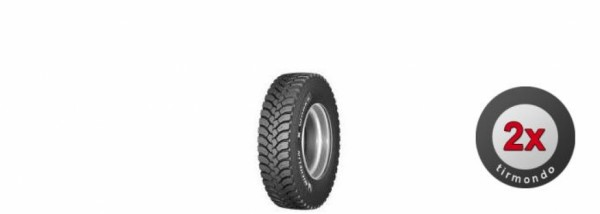 2x 315/80R22.5 MICHELIN XWORKSXDY (REMIX)