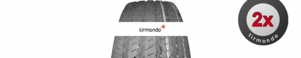 2x 245/70R17.5 CONTINENTAL SCANHT3 143
