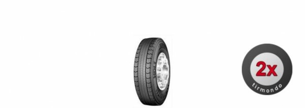 2x 295/80R22.5 CONTINENTAL HDL1 152