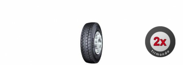 2x 275/70R22.5 CONTINENTAL HDR